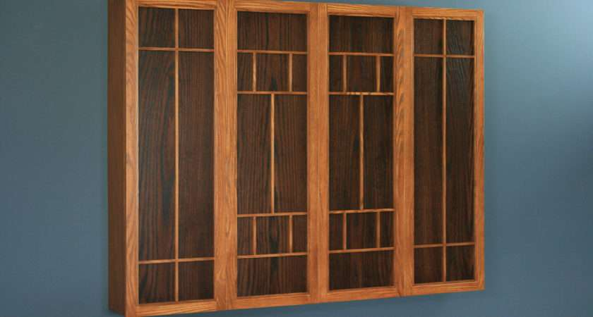 Solid Hardwood Flat Screen Cabinets Not Only Hide But Make