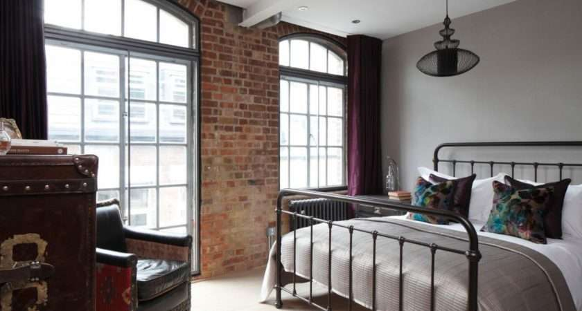 Sophisticated Industrialism Revealed London Apartment