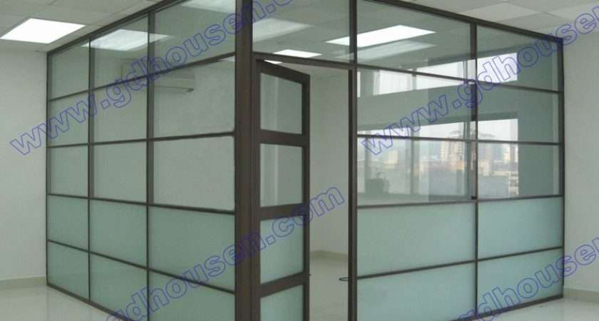 Space Divider Glass Partition Wall China