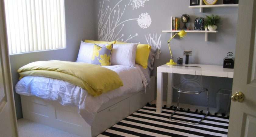 Spacious Best Small Bedrooms Ideas Pinterest