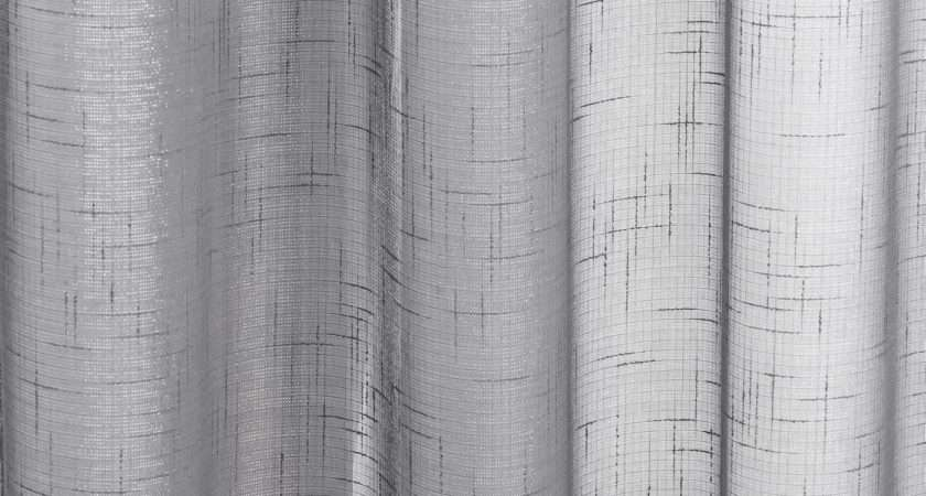 Sparkle Voile Curtain Panel Ready Made Eyelet Ring Top Panels