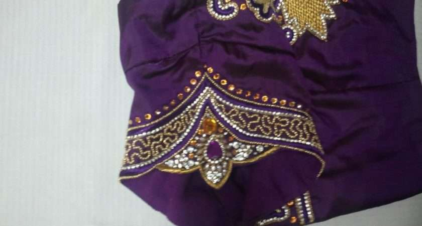 Sparkling Fashion New Maggam Work Blouses