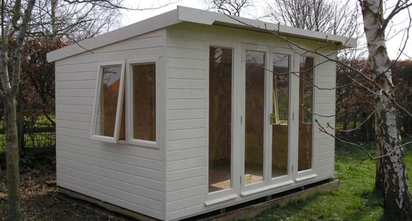 Special Lined Insulated Pent Roof Summerhouse