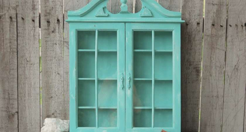 Spice Rack Bathroom Wall Cabinet Shabby Chic Thevintageartistry
