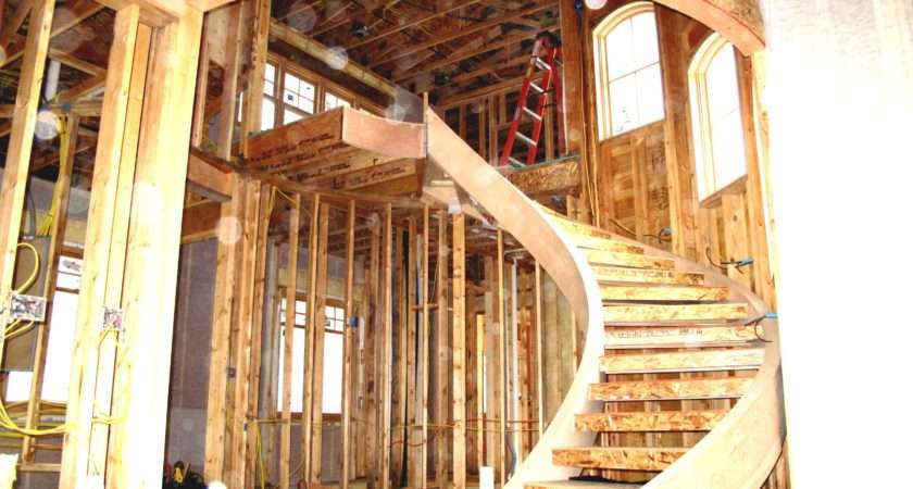 Spiral Staircase Design Plans Wood Stair