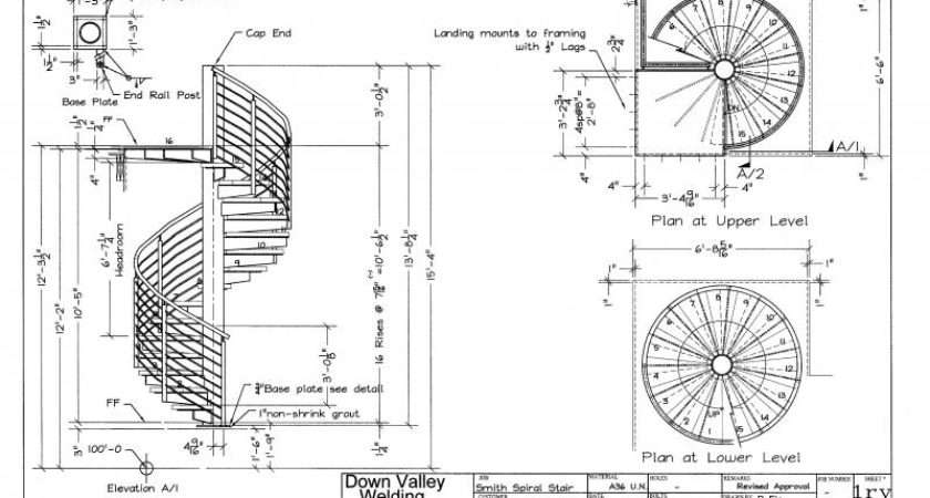 Spiral Staircase Plan Drawing Stairs Related Keywords