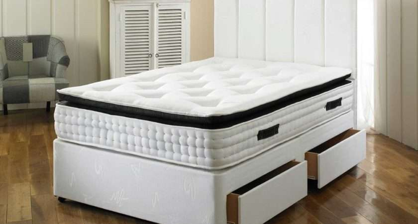 Spring Pillow Top Divan Bed Beds Bedworld Delivery