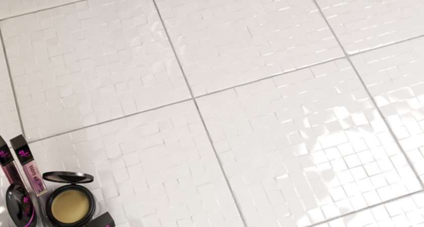 Sqm Janssen Bloc Arctic White Textured Wall Tile
