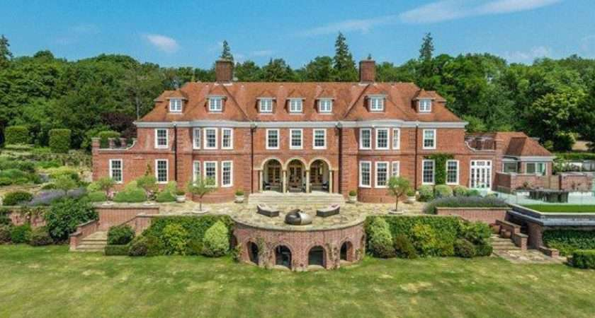 Square Foot Newly Listed Brick Country Mansion Surrey England