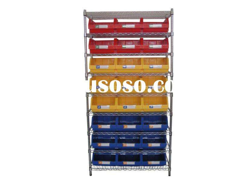 Stack Hang Bins Wire Shelving Systems