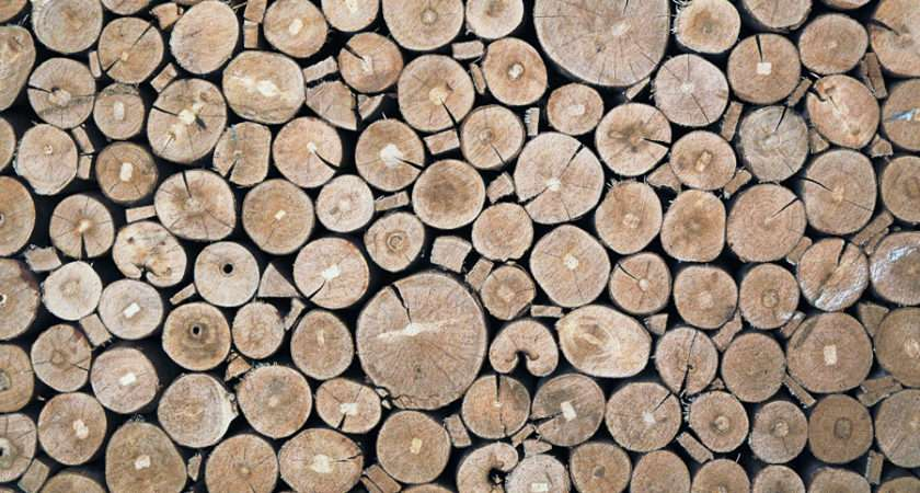 Stacked Logs Photography Backdrops