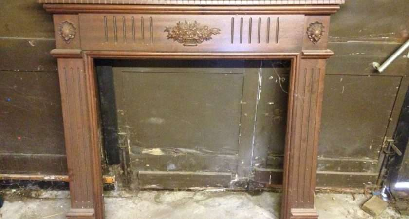 Stained Mdf Wood Effect Fire Surround United Kingdom Gumtree