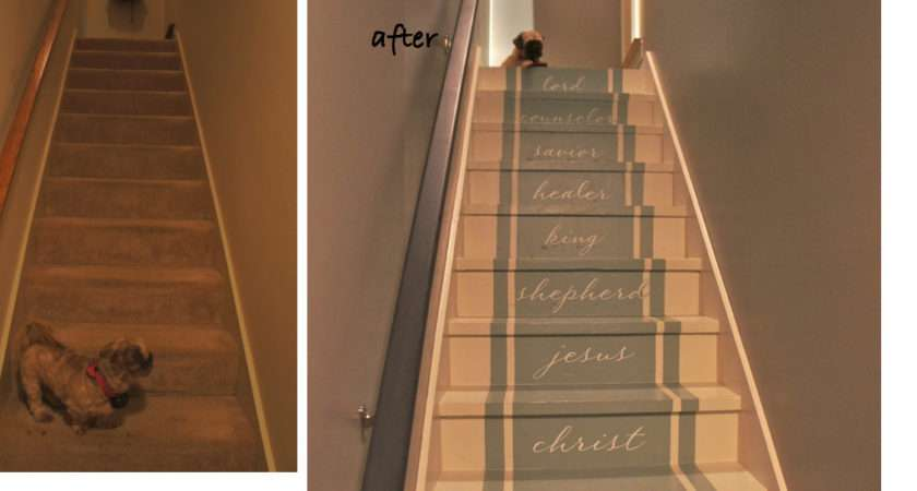 Stair Makeover Stairway Heaven