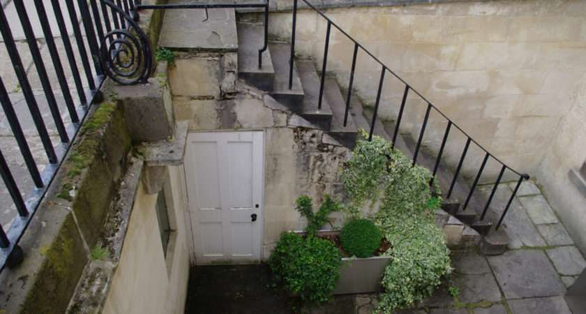 Stairs Servant Entrance Bath Tony Grant