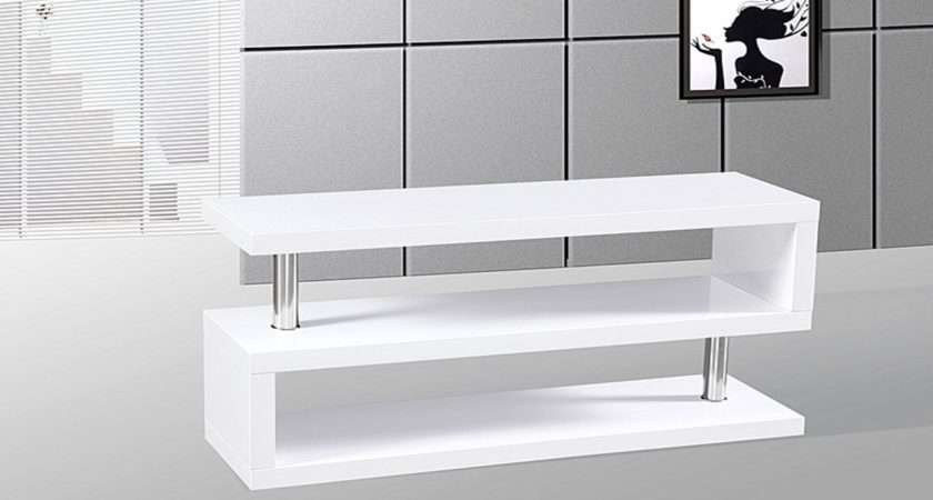 Stand Unit White High Gloss Homegenies