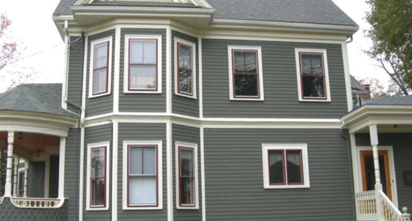 Stately Victorian Queen Anne Historic House Colors