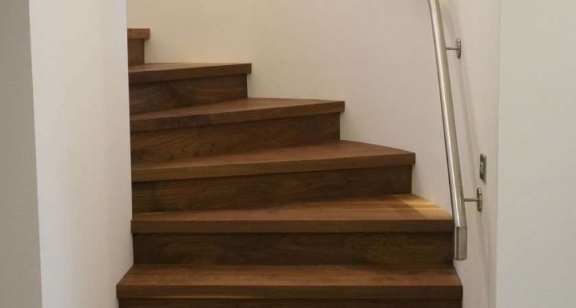 Steel Walnut Feature Staircase Base