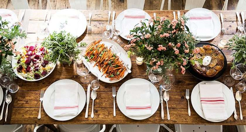 Steps Mastering Casual Fall Dinner Party