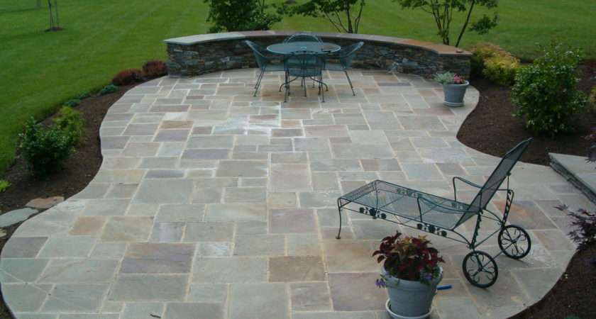 Stone Patio Ideas Home Improvement