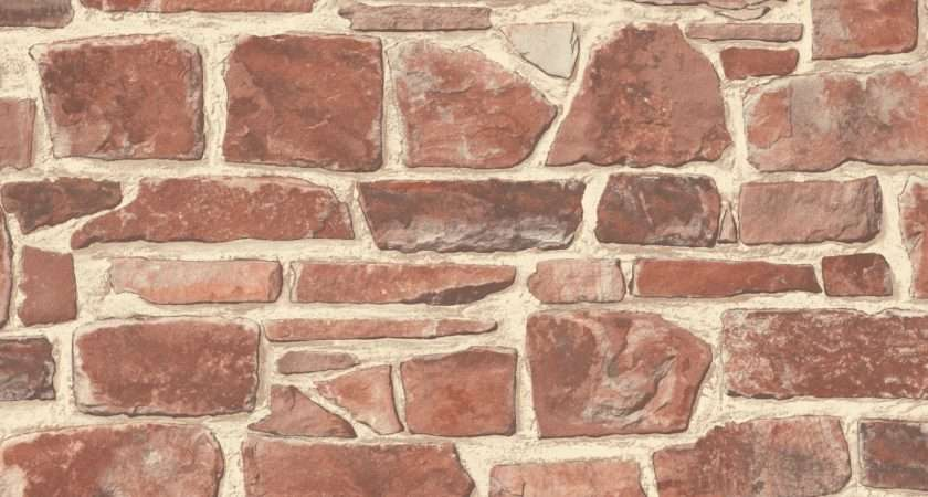 Stone Wall Brick Effect Quality Textured Feature
