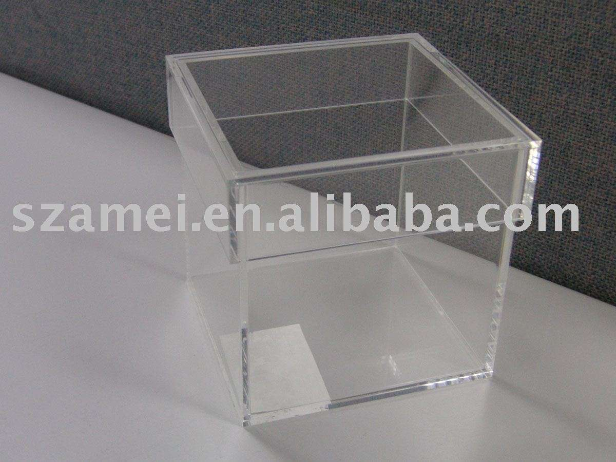 Storage Box Plexiglass Detailed Acrylic