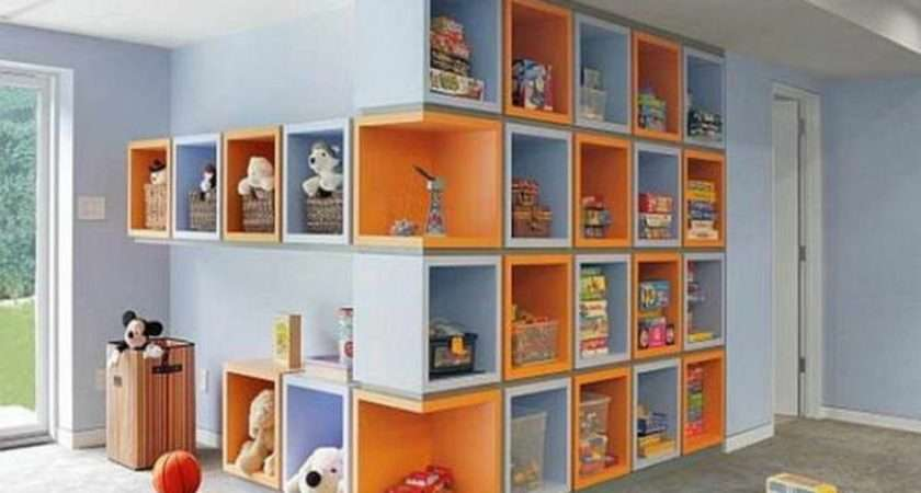 Storage Organization Ideas Kids Rooms Design Dazzle