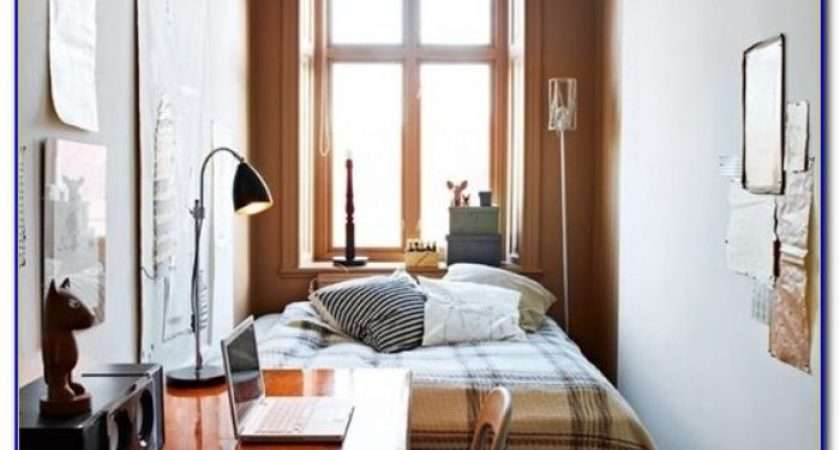 Storage Solutions Small Spaces Pinterest Bedroom