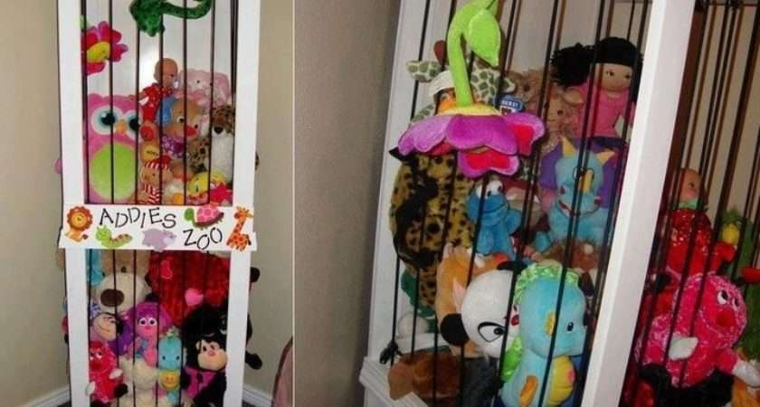Stuffed Toy Cage Perfect Miss Aleah Pinterest