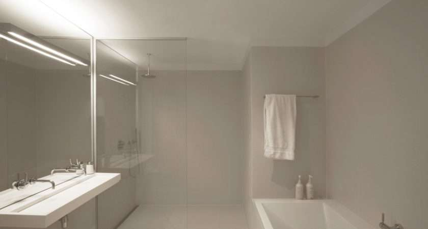 Stuning Pure Modern Minimalist Bathroom Desaigns Glass Shower