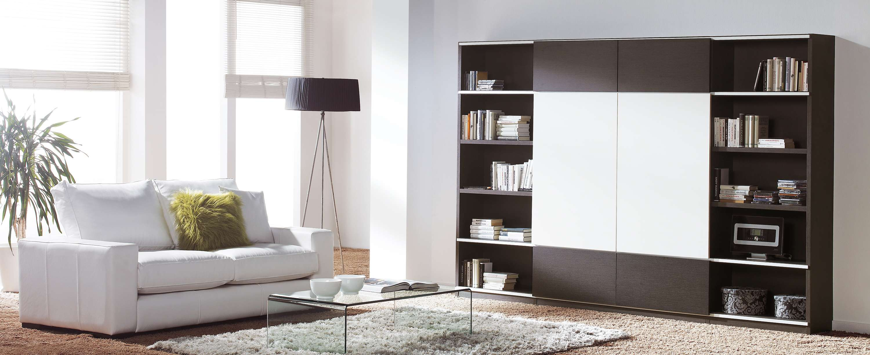 Stunning Modular Shelving Units Applied Living Room Space House