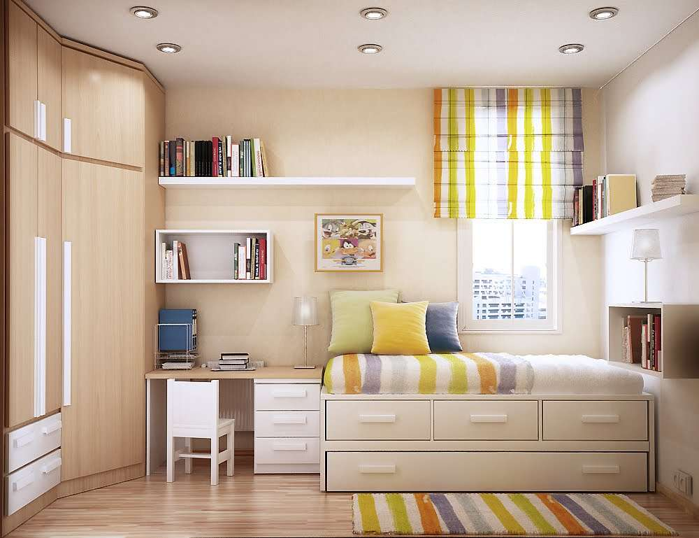 Stunning Small Bedroom Design Spaces Home Decor Interior