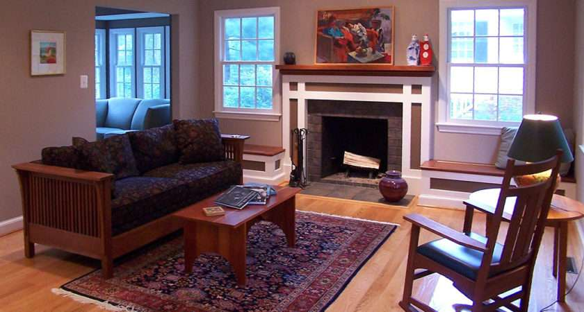 Style Colonial Revival Living Room Renovations