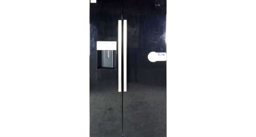 Style Freestanding Fridge Freezer Energy Rating Wide Black