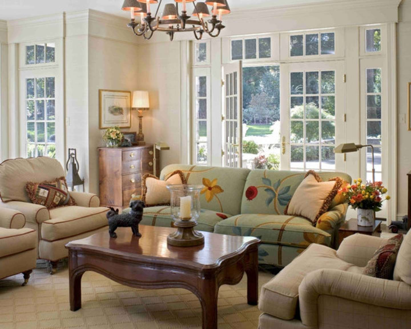 Style Small Country Living Room Then French Golime