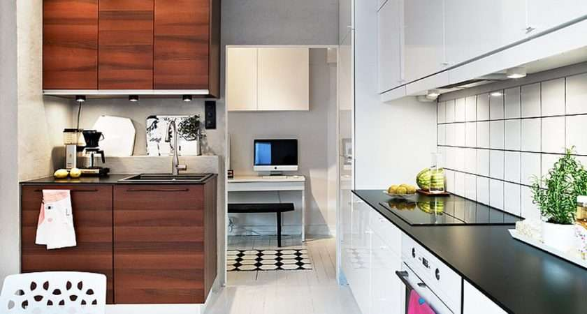 Stylish Simple Kitchen Ideas Small Spaces Nice