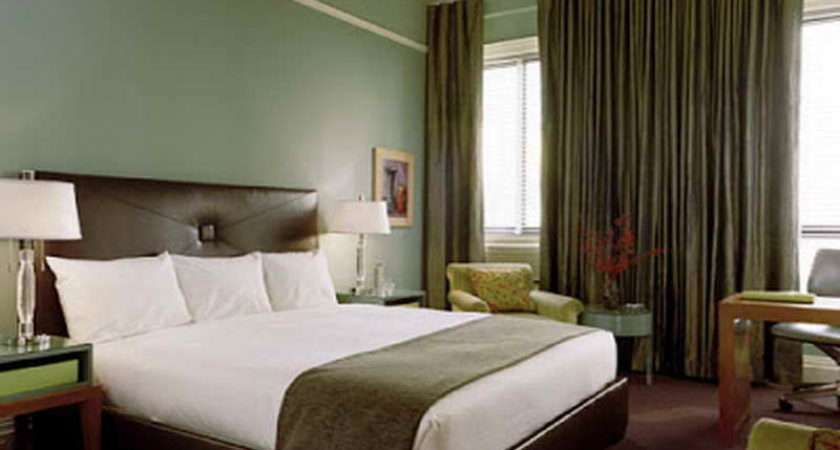 Suitable Small Bedroom Paint Ideas Green