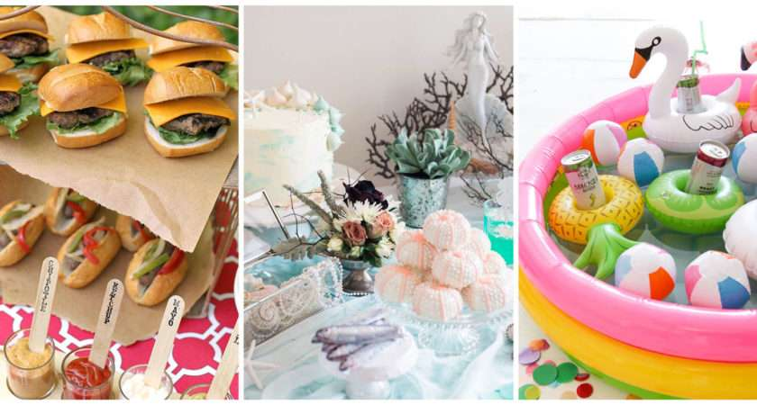 Summer Party Ideas Entertaining Decorations
