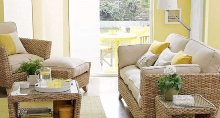 Sunny Yellow Conservatory Smart Special Looks