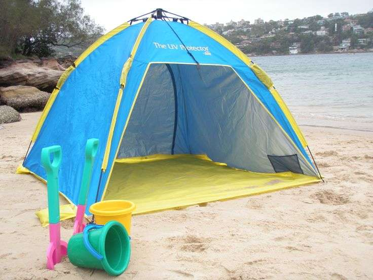 Sunproof Beach Tent Shelta Australia Distributed