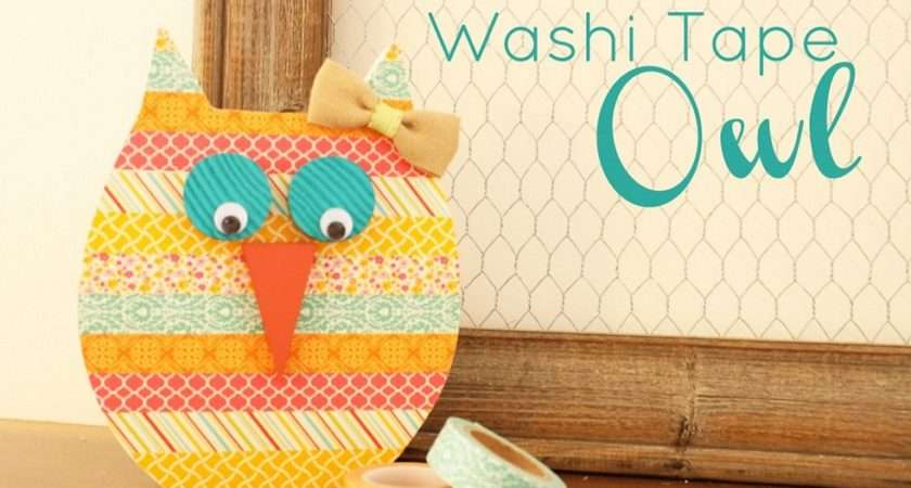 Super Easy Cool Washi Tape Crafts Homestylediary