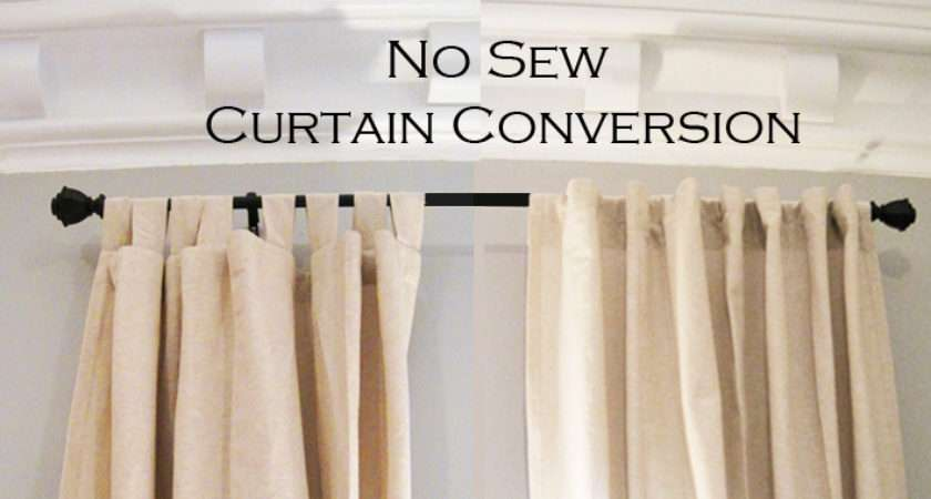 Super Simple Sew Fix Turn Curtains Into More Custom Look