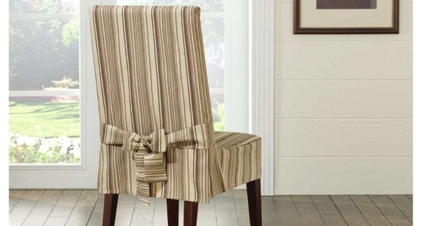 Sure Fit Harbor Stripe Dining Chair Slipcover Reviews