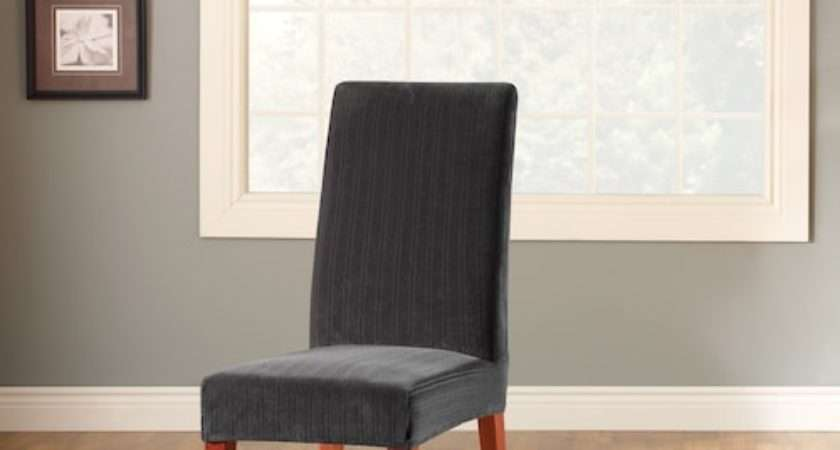 Sure Fit Stretch Pin Striped Dining Chair Slipcover
