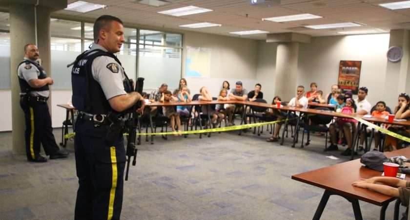 Surrey Rcmp Hosts Open House Police Week Photos Indo