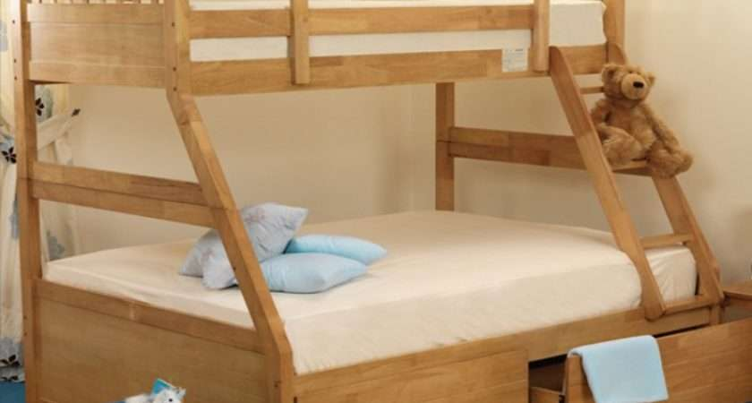 Sweet Dreams Epsom Triple Sleeper Bunk Bed Oak