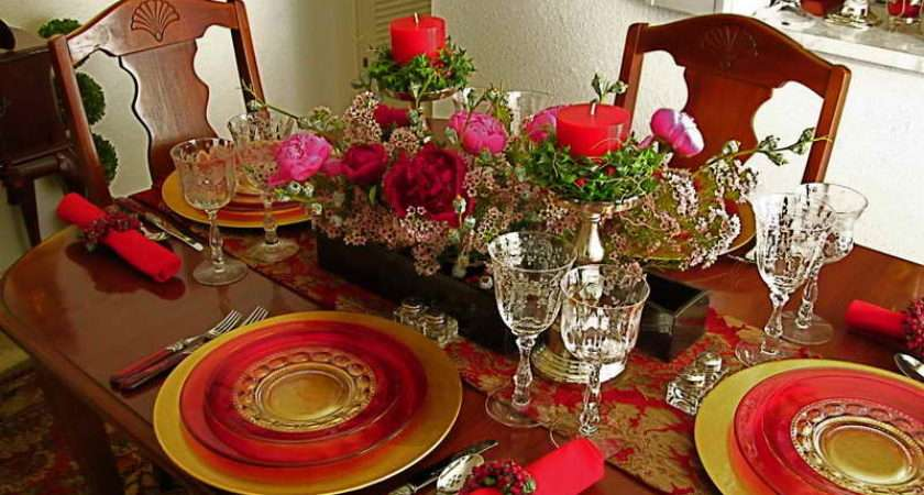 Table Settings Modern Contemporary Design Chinese