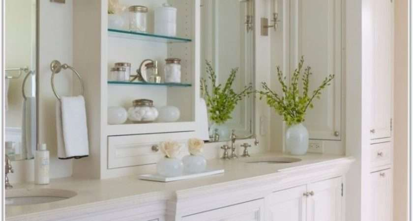 Tall Corner Bathroom Cabinets Cabinet Home