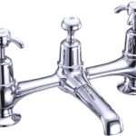 Tap Hole Bridge Basin Mixer Burlington Bura Thbbm Anglesey