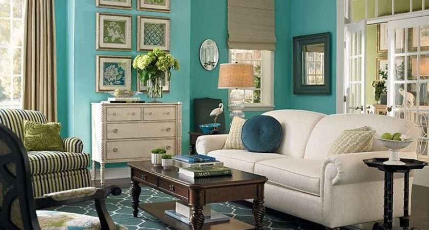 Teal Living Room Love Paint Taupe Accents
