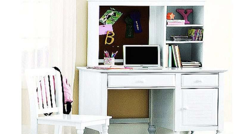 Teen Desk Chair White Desks Hutch Girls